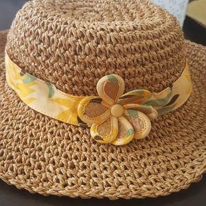 Janie and jack 6 12 M straw hat